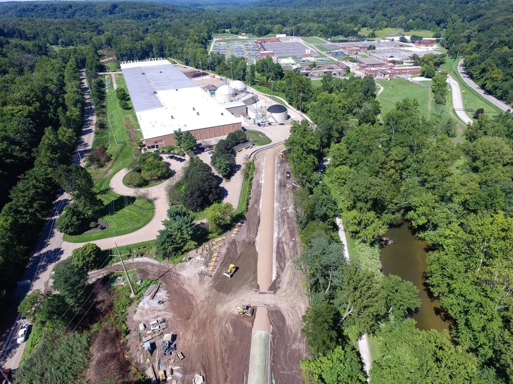 Akron Erectors Accelerates Tonnage Placement Pace at Akron Headworks WRF through 2020.}